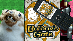Baldur's Gate for Feature Phones