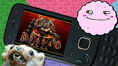 Diablo II Bootleg for Feature Phones with Mallow