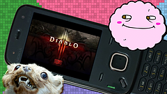 Diablo III Bootleg for Feature Phones with Mallow
